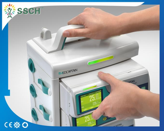 Hospital ICU Devices Medical Infusion Pumps With CE IEC60601-1 Standard Infusion Workstation