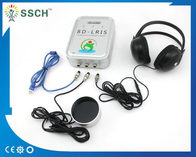 8D lris nls Silver Health Analyzer Machine GY -518D Russian