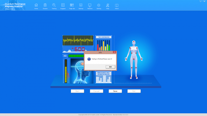 how to fix analyser for liver function test