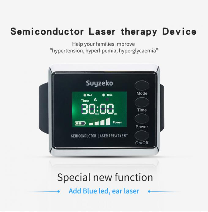Low Level Laser Therapy Acupuncture Device Allergic Rhinitis Treatment Diabetic Equipment