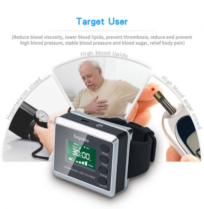 Laser Healing Device Biological Physiotherapy Wrist Acupuncture Therapeutic Apparatus