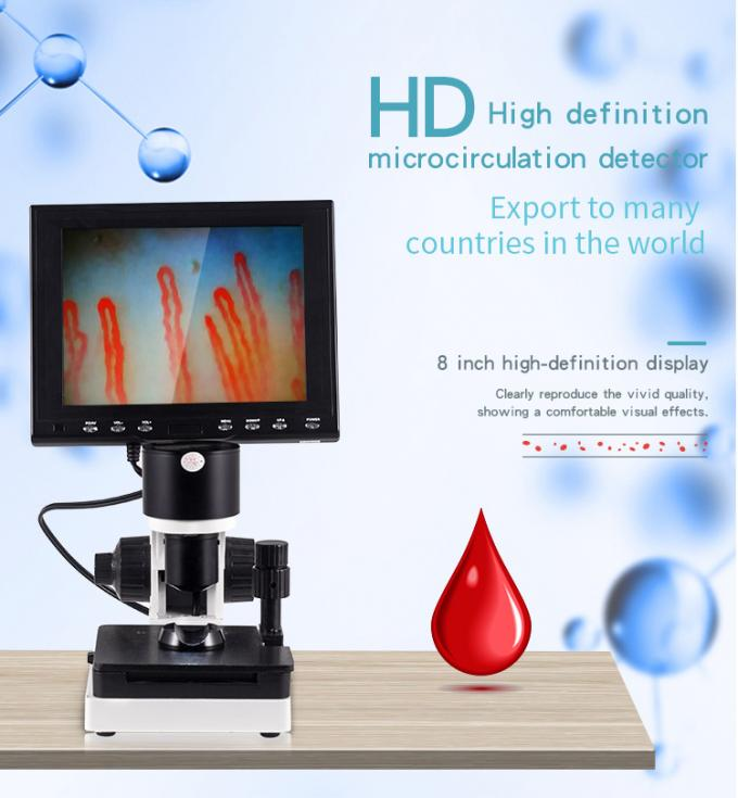 Portable Nailfold Capillary Diagnosis Microcirculation Microscope Blood Circulation