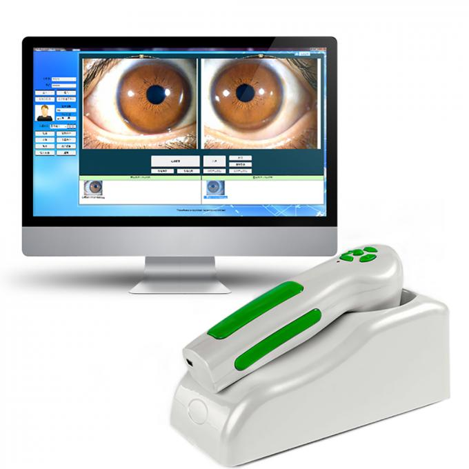 High Accuracy 9822u Physiotherapy Apparatus Multilanguage Iris Analysis 12mp