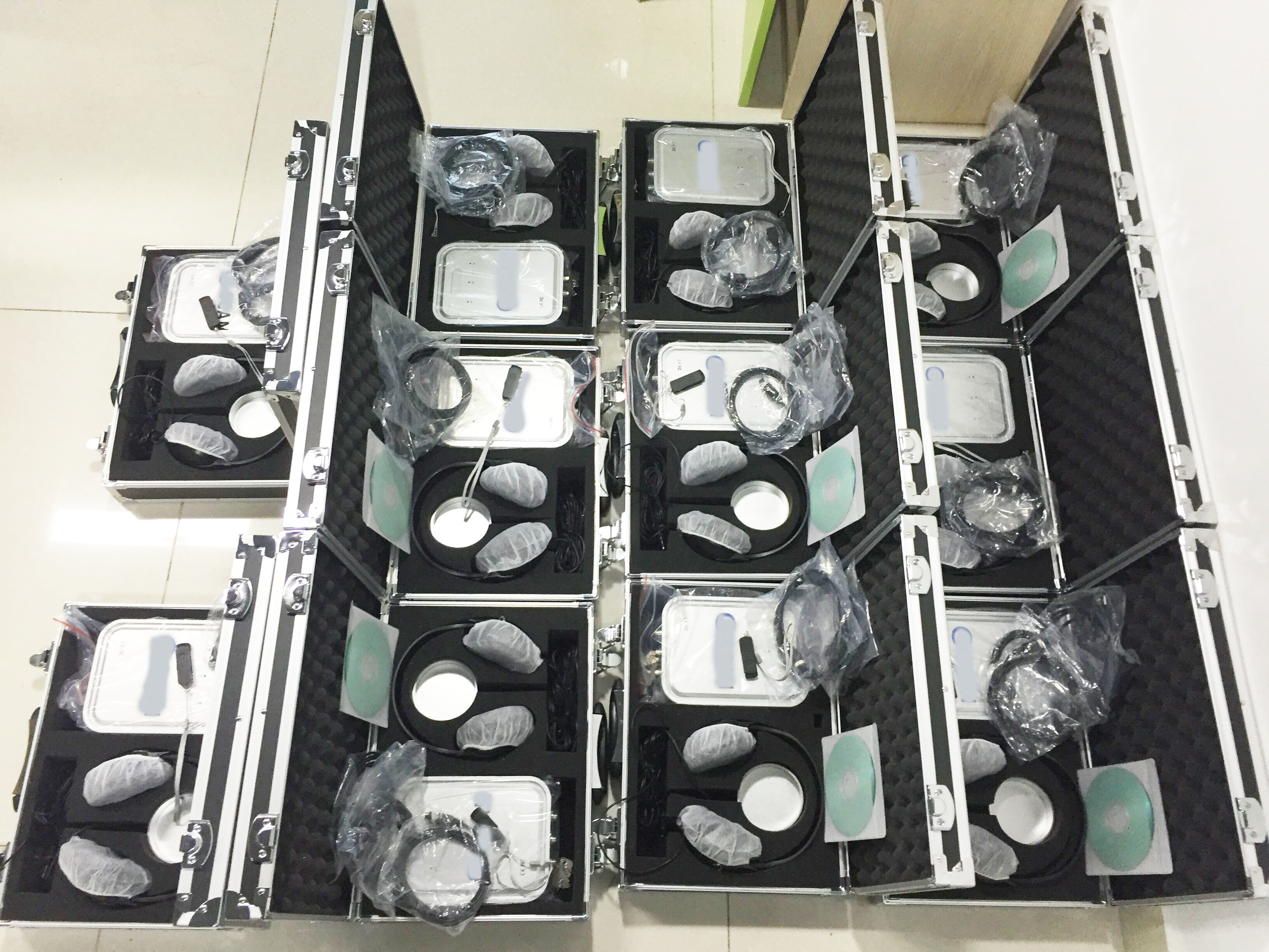 china latest news about Repeat order:  12pcs customized 8d nls health analyzer from Japan customer
