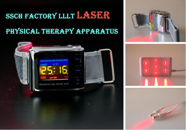 CE Marked 650nm Soft Laser Therapy Watch Diabetes Medical Equipment