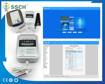 Touch Style Quantum Magnetic Resonance Analyser , Quantum Body Analyzer Machine