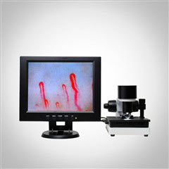 China LCD Display Health Analyzer Machine Clinical Blood Analysis Microcirculation Microscope supplier