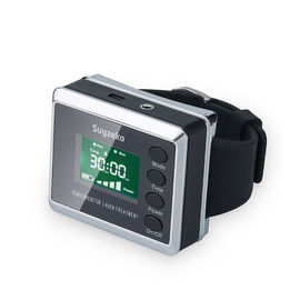 Diabetes Laser Healing Device Laser Therapy Wrist Watch Device For High Blood Pressure
