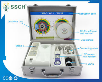 Portable Digital USB Iridology / Iriscope Equipment 5M Pixels High Resolution