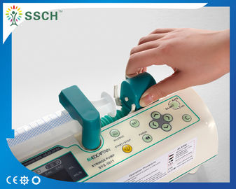 China Low Power Consumption Medical Syringe Pump Compatible with All Syringe 10mL 20mL 30mL 60mL supplier