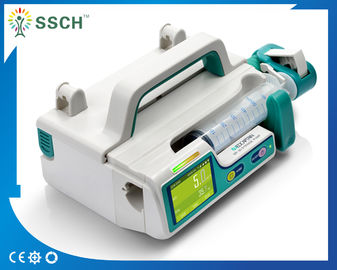 China Portable CE Battery Build-in Medical Infusion Pumps / Medical Electric Syringe Pump DC 12 V supplier