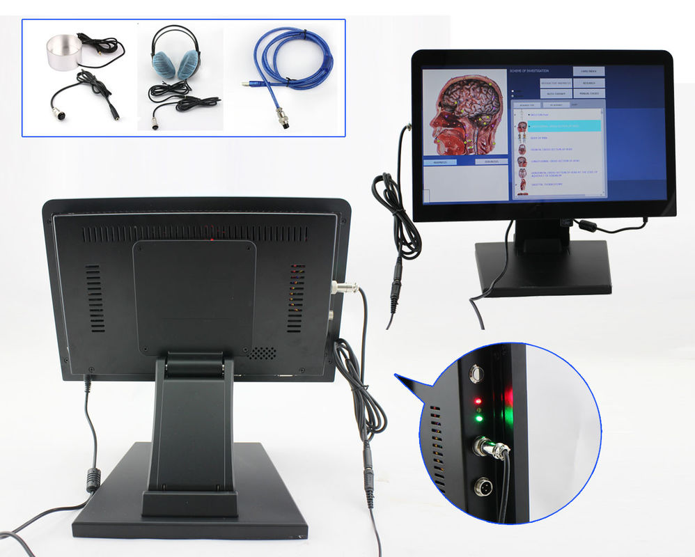 touch screen health test machine 8d lris nls with. Black Bedroom Furniture Sets. Home Design Ideas