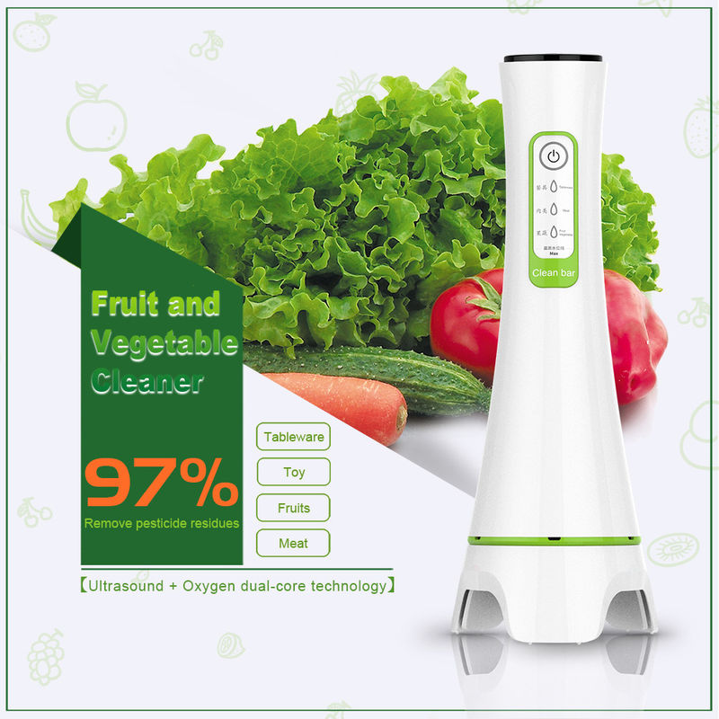 Family Pack Ultrasonic Automatic Ozone Vegetable And Fruit Purifier Remove Metal Conta