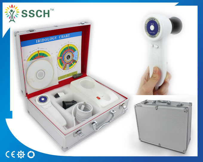 Medical Analyser CE Certificate USB Iriscope 500 megapixel Eye Iridology Camera Equipment